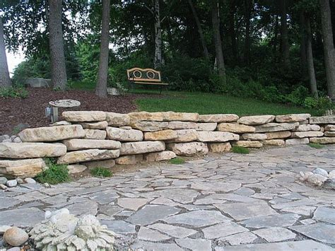 rock patio pictures and ideas