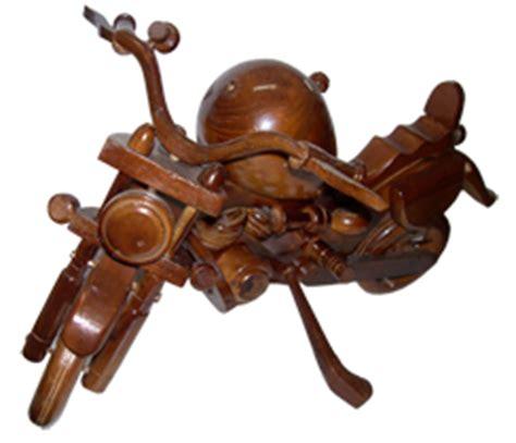 Miniatur Kayu Mobil Kuno Antik Olb1646 produk kerajinan kayu antik miniatur harley davidson triyandra craft