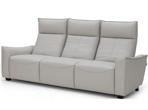 modern leather sofa bring luxury home with reclining