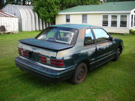 all car manuals free 1992 dodge shadow parking system sell used 1992 dodge shadow es hatchback 2 door 3 0l in
