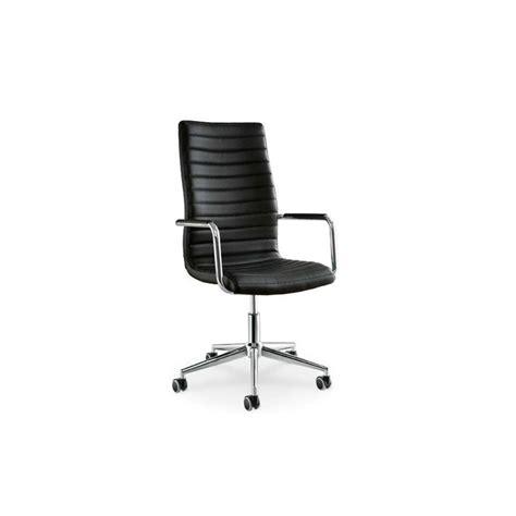 Chaise Bureau Cuir by Chaise De Bureau En Cuir Istar Par Midj