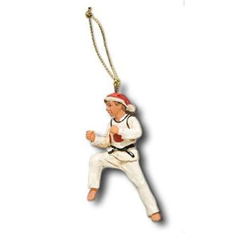 taekwondo christmas ornament taekwondo christmas