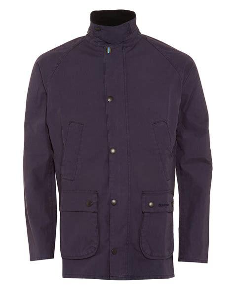 barbour heritage mens jacket washed slim bedale navy jacket