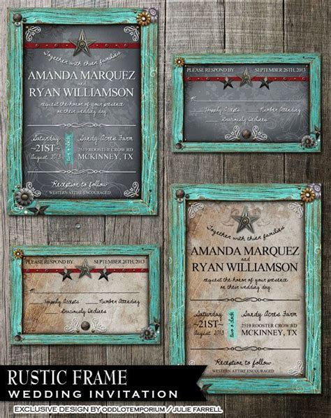 17 Best ideas about Framed Wedding Invitations on
