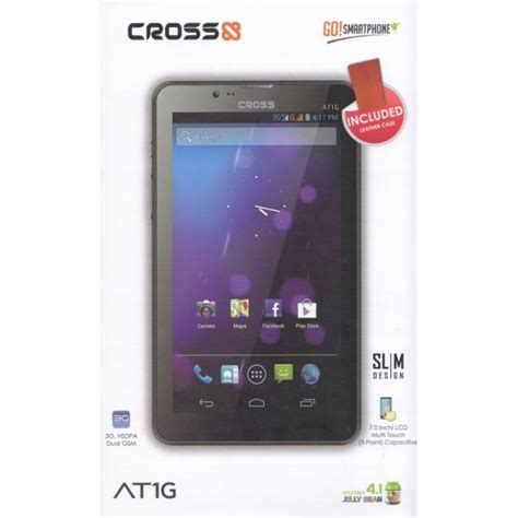 Tablet Croos Android herdiansyah cross at1g tablet android jelly bean dual