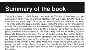 The Prince And The Pauper Book Report The Prince And The Pauper Mar 237 A