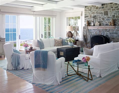blue living rooms completely coastal