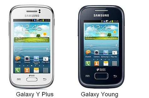 samsung galaxy y plus and galaxy available for order technoarea