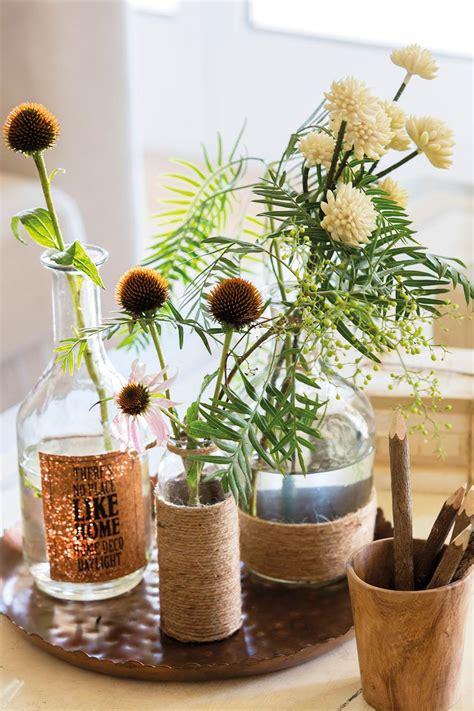 piedras para decorar jarrones de cristal jarrones 15 ideas para decorativas para tu casa