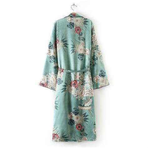 Daster Flowy boho flowy shawl kimono duster cardigan cover up top blouse us ebay