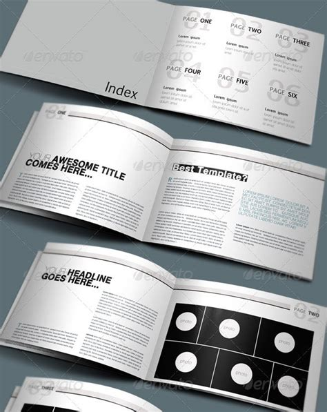 free psd booklet template 25 psd brochure design templates wakaboom