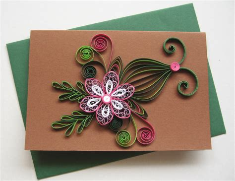 how to make handmade cards quilled birthday card handmade paper greeting card
