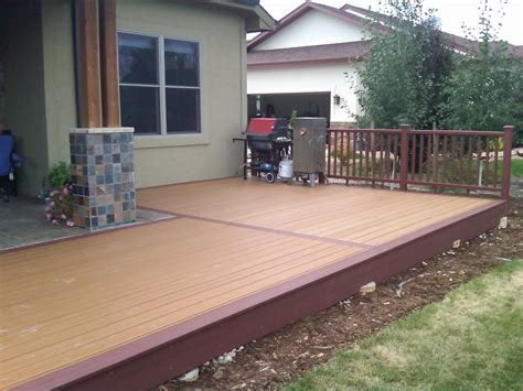 porch deck front porch decking material