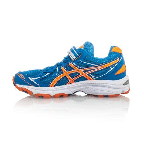 asics neon orange running shoes asics pre galaxy 6 ps boys running shoes blue