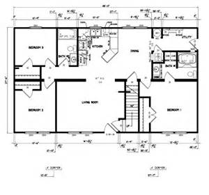 free modular home floor plans free manufactured home floor plans