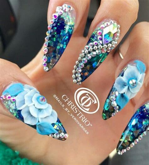 3d Rhinestone Nail Designs best 25 rhinestone nail designs ideas on