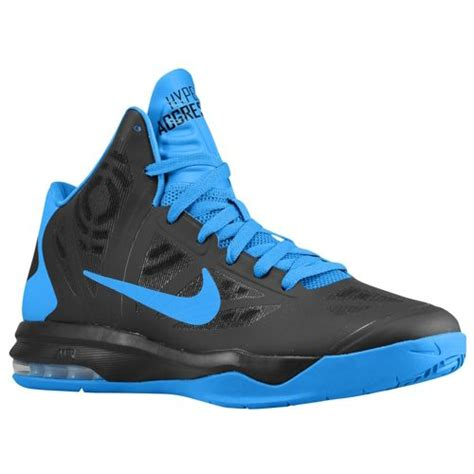 blue nike basketball shoes nike air max hyperaggressor men s basketball shoes black