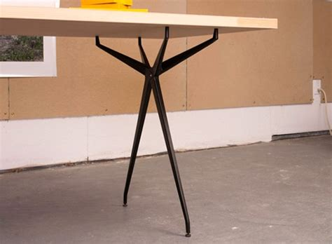 desk legs table legs desk work better living through design