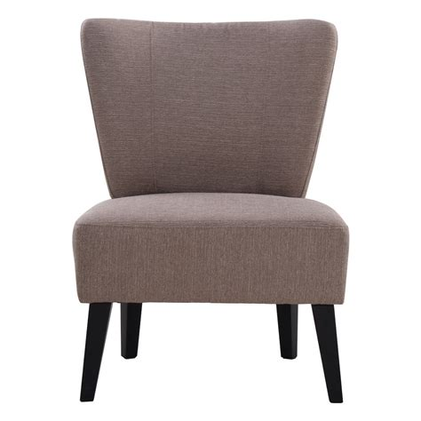 armless accent chair upholstered seat dining chair living room furniture ebay