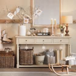 Cream hallway with console table housetohome co uk