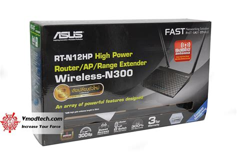 Asus Wireless N Router Rt N12hp หน าท 1 review asus rt n12hp wireless n high power router vmodtech review