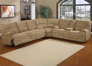 denton chenille reclining sectional sofa traditional