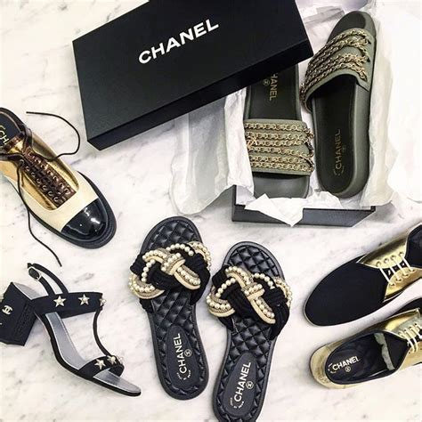 Sandal Chanel Import 22 17 best ideas about chanel shoes on chanel espadrilles chanel and chanel flats