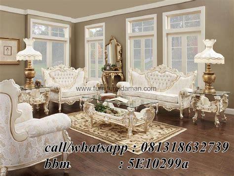 Meja Makan Cellini sofa tamu set italian model mewah ksi 35 furniture