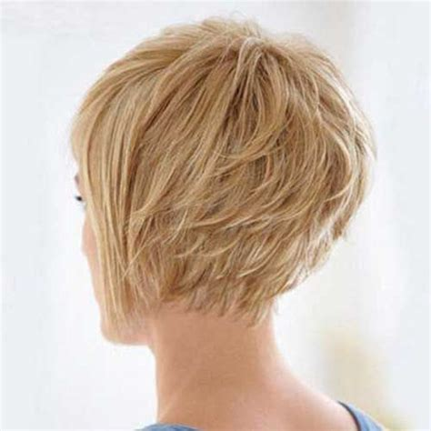 short haircuts with neckline styles graduated layered bob love the fringy neckline hair