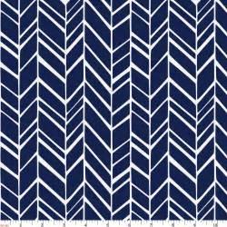 Wide Rocking Chair Windsor Navy Herringbone Fabric By The Yard Navy Fabric