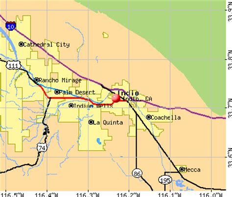 california map indio r 233 sum 233 activit 233 s 224 indio ca d 233 cembre 2003