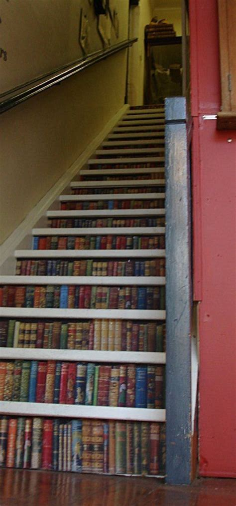 bookshelf stairs things for the future