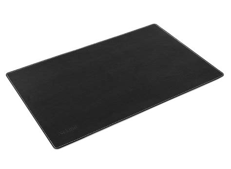 Small Desk Pad Nekmit Leather Desk Blotter Protective Pad Mat 17 Quot X12 Quot Small Small Ebay