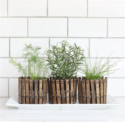 Diy Herb Garden Planter by 18 Indoor Herb Garden Ideas