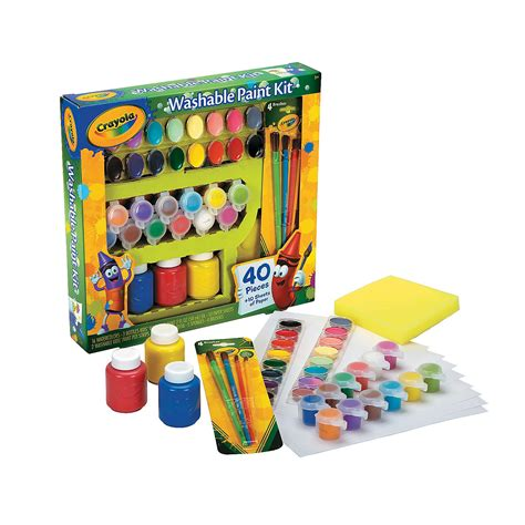 crayola painting crayola 174 washable paint kit trading