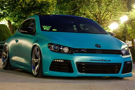 volkswagen scirocco r turbo slammed vw scirocco r with 370ps is as minty fresh as they