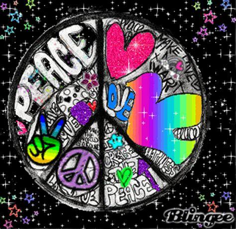 imagenes animadas de amor y paz paz amor glitter fotograf 237 a 120209843 blingee com