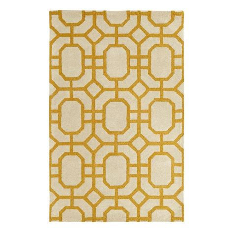 2 X 4 Area Rugs Dynamic Rugs Palace Yellow Ivory 2 Ft X 4 Ft Indoor Area Rug Pc245599707 The Home Depot