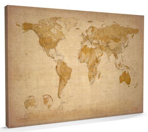 map   world map canvas     ebay