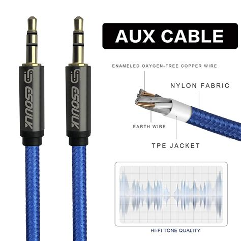 10 foot aux cable home www masportsusa