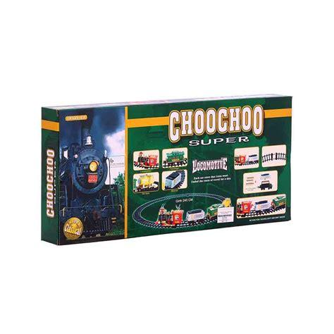 buy toy choochoo super locomotive train set
