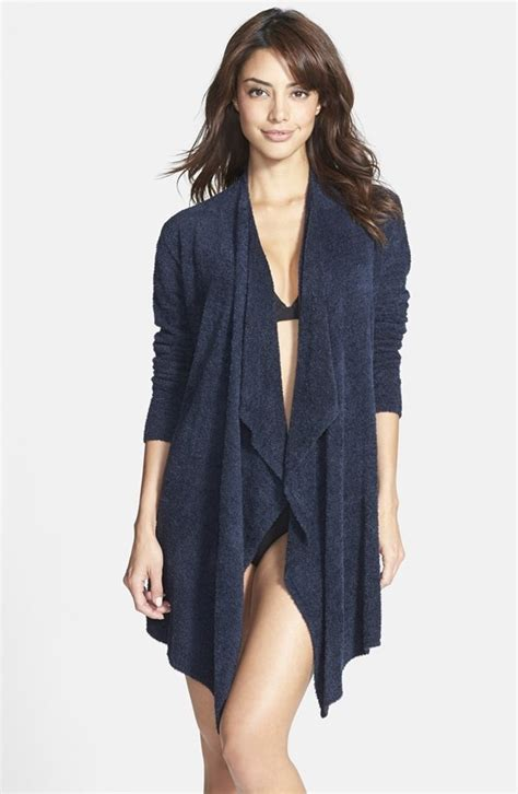 barefoot dreams bamboo chic drape front cardigan editor s pick the cardigan that s so amazing it has its