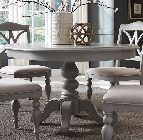 summer house dove grey  extendable dining table