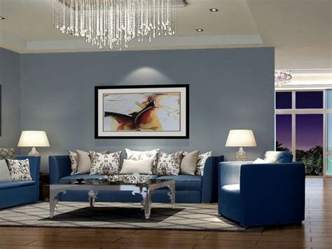 modern blue sofa   living room  elegant