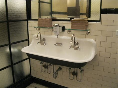 fabulous double bathroom sink quartino wine bar downtown