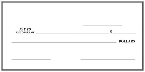 Big Checks Large Presentation Checks Megaprint Presentation Cheque Template Free