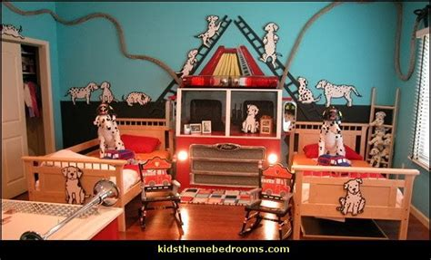 fire truck bedroom decor decorating theme bedrooms maries manor transportation