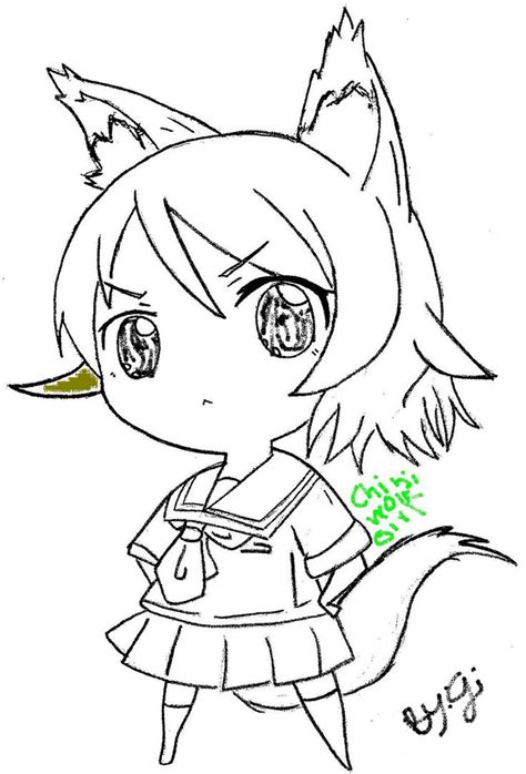 anime wolf drawings easy chibi wolf drawing ipod123410 169 2016 jun 19 2012