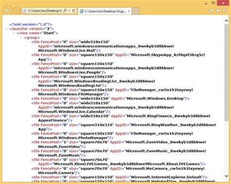 layout xml path is your organization ready for windows 8 1 part 6 start