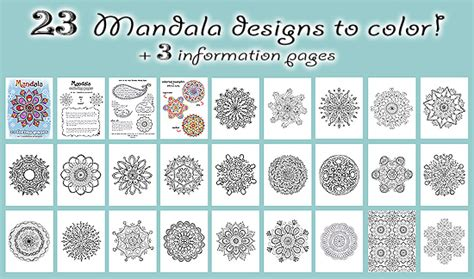free mandala coloring pages what s your sign free mandala designs to print get your free printable